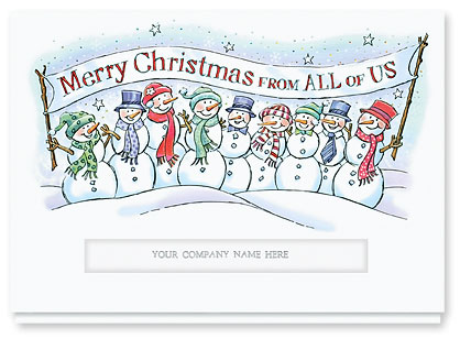 086CS Merry Christmas from All of Us