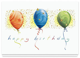 Design 113AR - Soaring Happy Birthday Card
