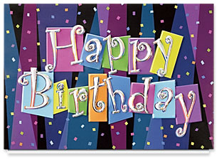 Design 116AE Birthday Blast Birthday Card