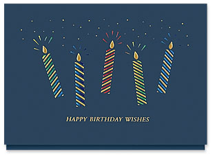 Design 823AY Make a Wish Birthday Card