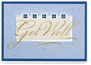 Design #109AR Wishing You Well Greeting Card