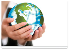 Environmental Image 1 - Earth in Hands