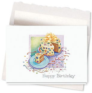 Design #121AE Birthday Favorite Card