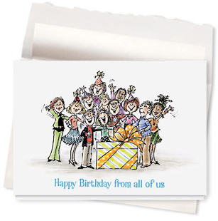 Design #469AR - The Big Cheer Birthday Card