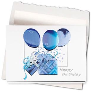 Design #453AE - Birthday Surprise Greeting Card