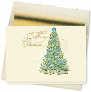 Design #684CX - Merry Christmas Traditions Holiday Card