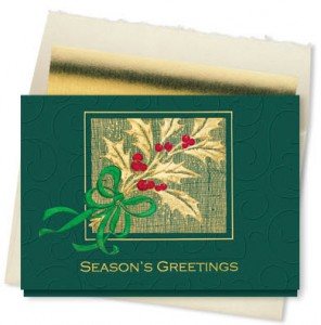 Design 826CX - Holly Berry Season's Greetings