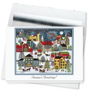 Design 732CS – Christmas Eve Holiday Card