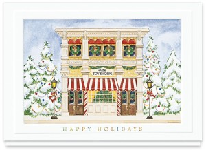 Design 157CW - Holiday Toy Shoppe Christmas Card Final