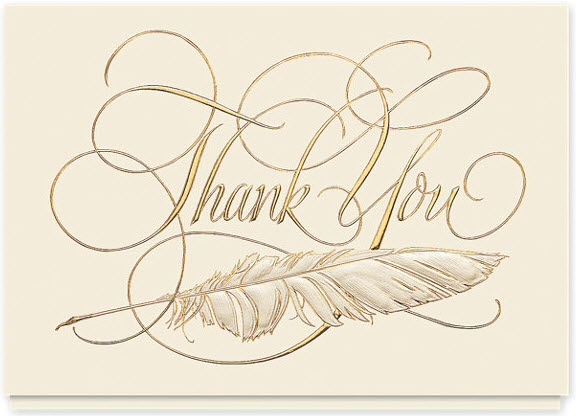 Signature Thank You Cards