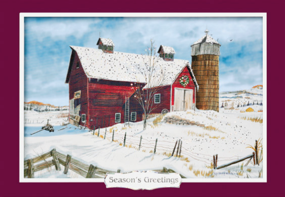 Winter Impressions Holiday Card