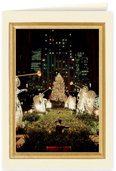 New York City Channel Gardens Card