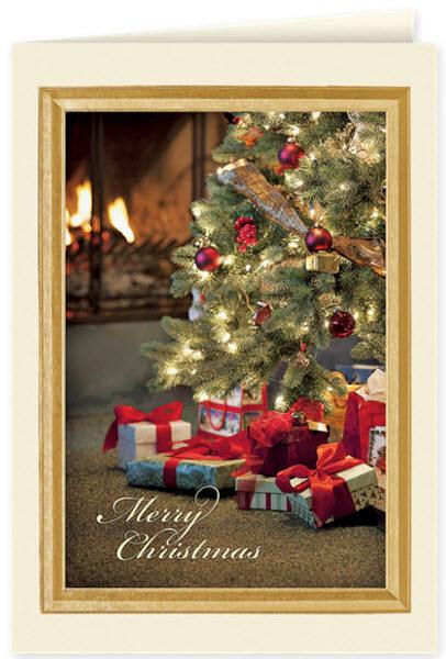 Merry Christmas Glow Card