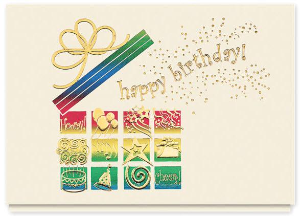 Happy Birthday Wishes Greeting Card