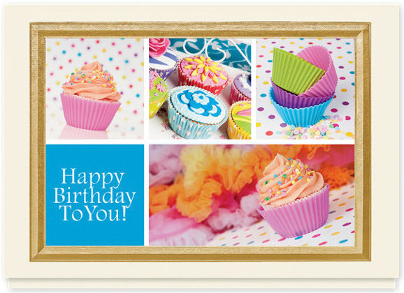 Cupcake Paradise Birthday Card