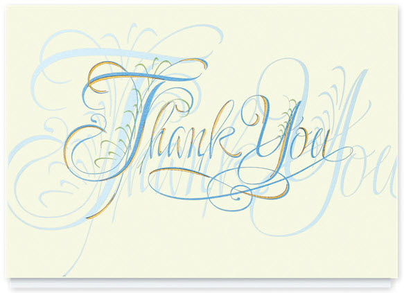 Gracious Thank You Card