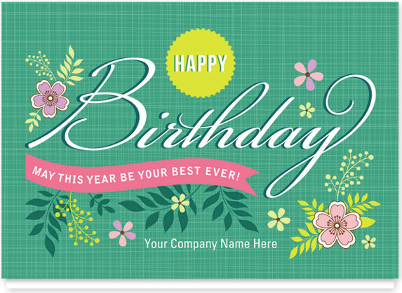 What Should I Write In Employee Happy Birthday Cards Gallery