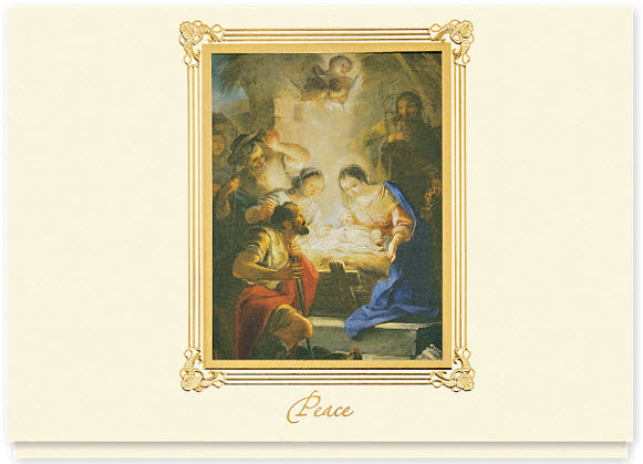Maella Adoration of the Shepherds Peace Card