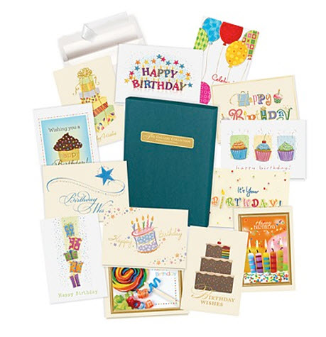 birthday cards assortment boxes