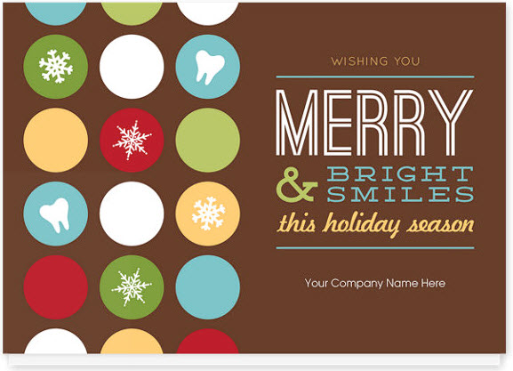 Bright Smiles Holiday Card
