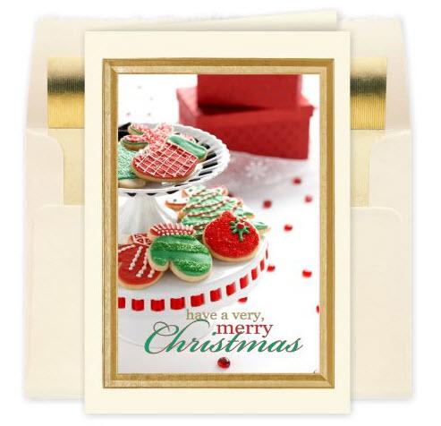 Christmas Cookies Holiday Card