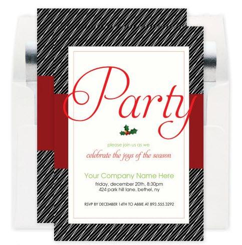 Celebrate the Joy Corporate Party Invitation