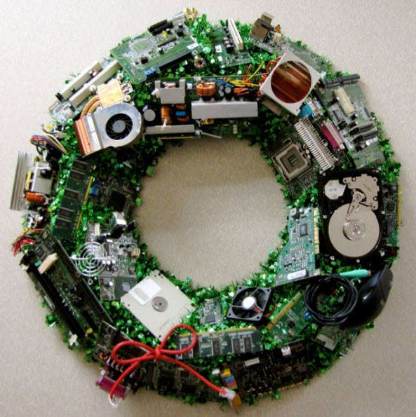 office_christmas_wreath - Office Christmas Decorations