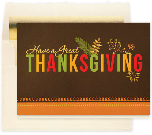 Have a Great Thanksgiving Card