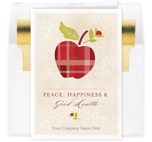Health and Happiness Christmas Card