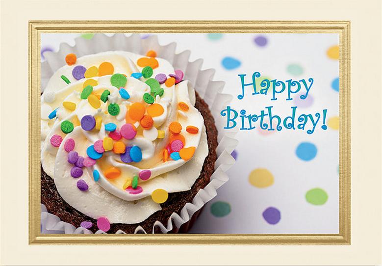 Design G1VAY - Cupcake Treat Birthday Card