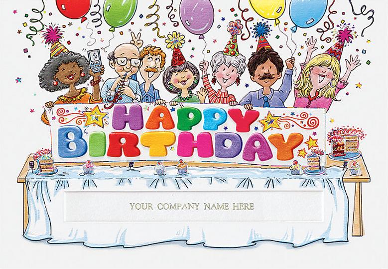 The Birthday Bunch Greeting Card - Design H6FAE