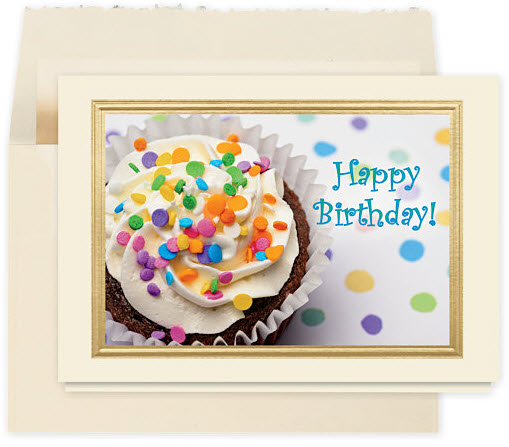 Cupcake Treat Birthday Card
