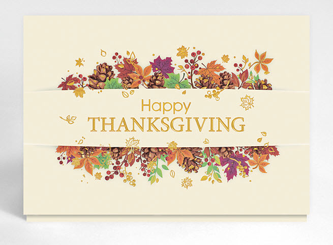 Tips on writing a thanksgiving card gallery collection blog more and more businesses and individuals are sending out happy thanksgiving cards instead of the traditional christmas or holiday cards m4hsunfo