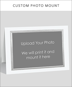 Design your own the gallery collection upload a photo to our gallery collection photo frame card designs embossed and stamped with foil the inside of your card can be imprinted in ink or foil reheart Choice Image